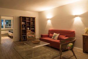 Wohnzimmer 2 - Ferienwohnung - Pension Krämer