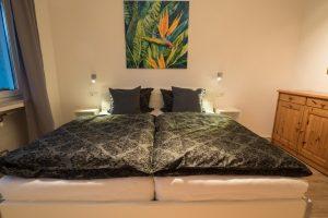 Schlafzimmer 1 - Ferienwohnung - Pension Krämer