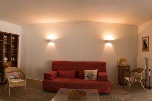 Wohnzimmer 1 - Ferienwohnung - Pension Krämer